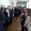27 февраля 2020 г. в школе открылась юбилейная передвижная выставка акварели члена Союза художников России